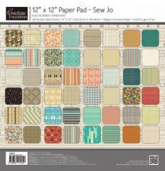 "Couture Creations 12 x 12"" Sew Jo Paper Pack"